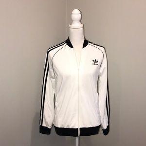 Adidas original trefoil track jacket